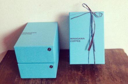 珈琲豆のギフトボックス